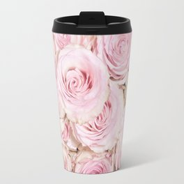Roses have thorns- Floral Flower Pink Rose Flowers Travel Mug
