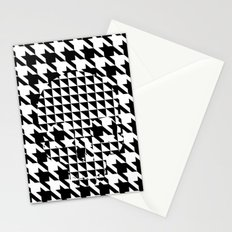 houndstooth skull #1 Stationery Cards