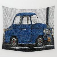 cuba Wall Tapestries featuring Cuba Car by Sartoris ART