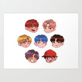 BTS - DNA Art Print
