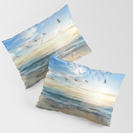 Beach Scene 34 Pillow Sham