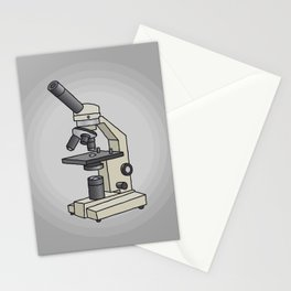 Microscope Stationery Cards