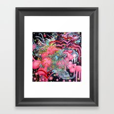 Air Bubbles Framed Art Print