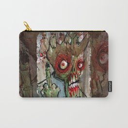 zombie flips the bird Carry-All Pouch