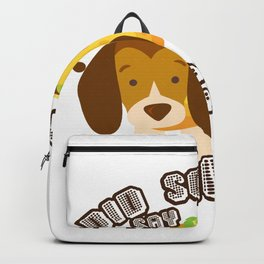 Did Someone Say Tacos Beagle Dog Funny De Mayo Gift Backpack