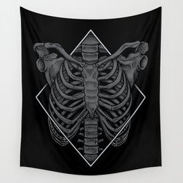Skeleton Wall Tapestry