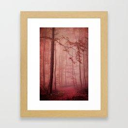 Rose Red's Forest Framed Art Print