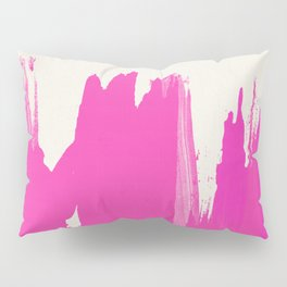 Pink Paint Layers Pillow Sham