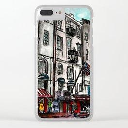 Savannah River Street Clear iPhone Case