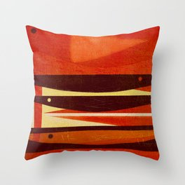 Needlefish Throw Pillow
