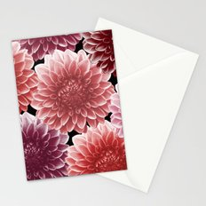 DAHLIAS (flowers collection) Stationery Cards