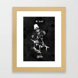 Boney Skateboarding series - 04 Framed Art Print
