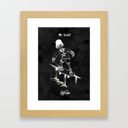 Boney Skateboarding series - 04 Framed Art Print