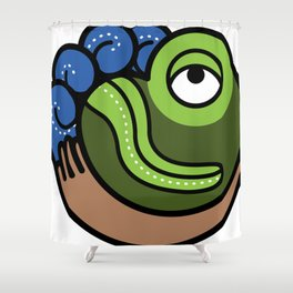 Hacienda San Lucas Toad Shower Curtain