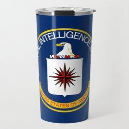 CIA Flag Travel Mug
