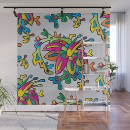 Floral Motives_02 by Victoria Deregus Wall Mural
