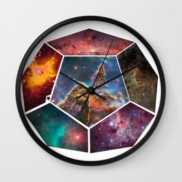 Universal Geometry no.3 Dodecagon Wall Clock