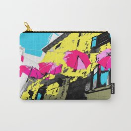umbrellas of labin croatia Carry-All Pouch
