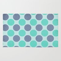 dot Area & Throw Rugs featuring Dot Dot Dot... by Tracey Krick Photography