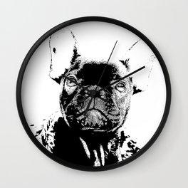 Französische Bulldogge Wall Clock