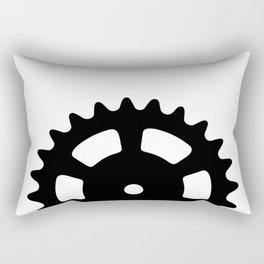 Cog and Roll Rectangular Pillow