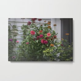 Flowers From Where Dirt Used to Be Metal Print