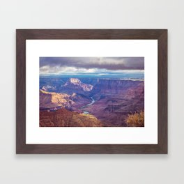 Grand Canyon and the Colorado River Framed Art Print