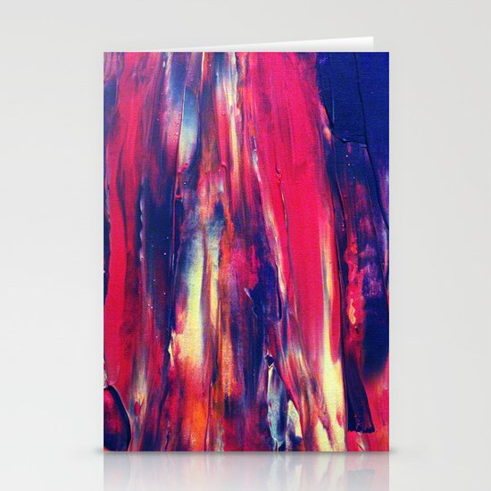 Abstract Painting 24 Stationery Cards