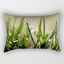 Early Morning Sparkle Rectangular Pillow