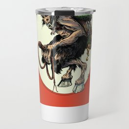 """Here Comes Krampus"" Travel Mug"