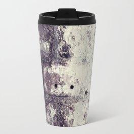 Ultra Violet Brick Wall Travel Mug