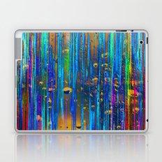 Colored Rain Laptop & iPad Skin
