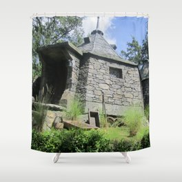 Hagrid are you home? Shower Curtain