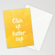 Chin Up Butter Cup Stationery Cards