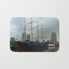 Moshulu And USS Olympia Bath Mat