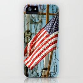 Sailing Ship Flag iPhone Case