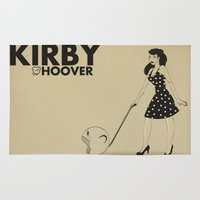 kirby Area & Throw Rugs featuring Kirby Hoover by Lily's Factory