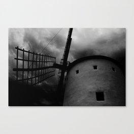 Terror windmill Canvas Print
