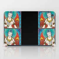 buddhism iPad Cases featuring Buddhism by Panda Cool