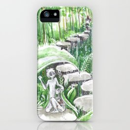 Kyoto Spirit Rain iPhone Case