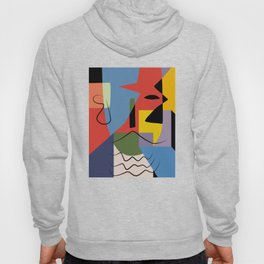Abstract composition dali Hoody