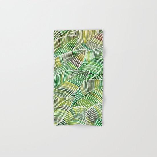 Tropical Green Hand & Bath Towel