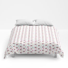 Arrows: multi-color Comforters