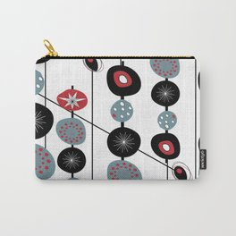 Mid-Century Modern Art Atomic Cocktail Carry-All Pouch