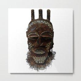 Bena Biombo  Metal Print