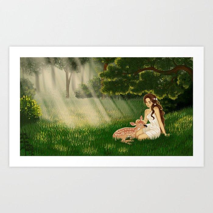 Glade Art Print