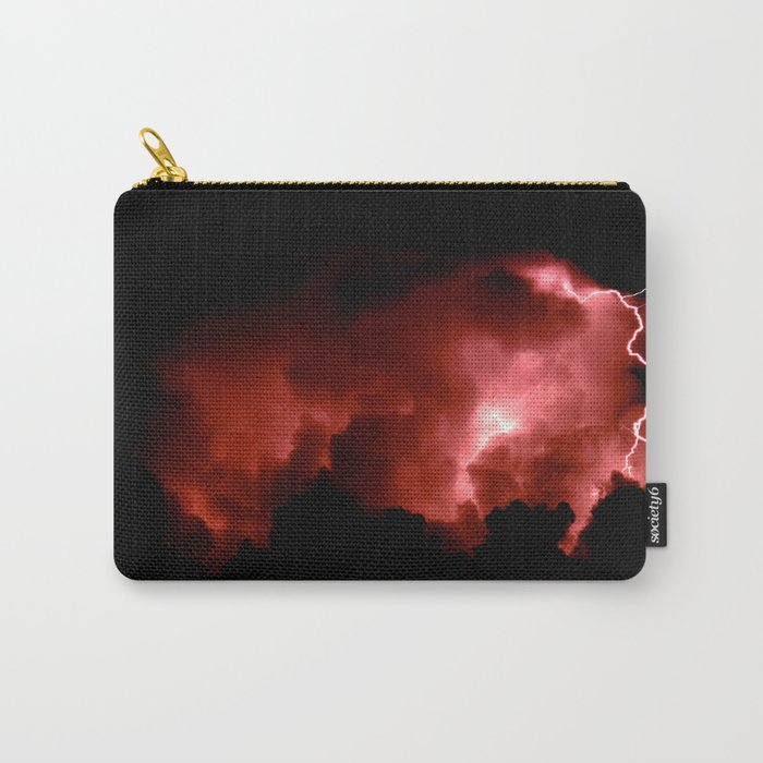Lightning Strikes Carry-All Pouch