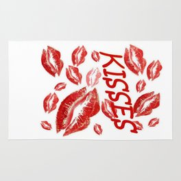 Cover Me In Kisses Rug