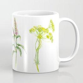 Tea Flowers Coffee Mug