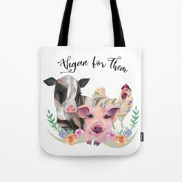 Vegan for Them Tote Bag